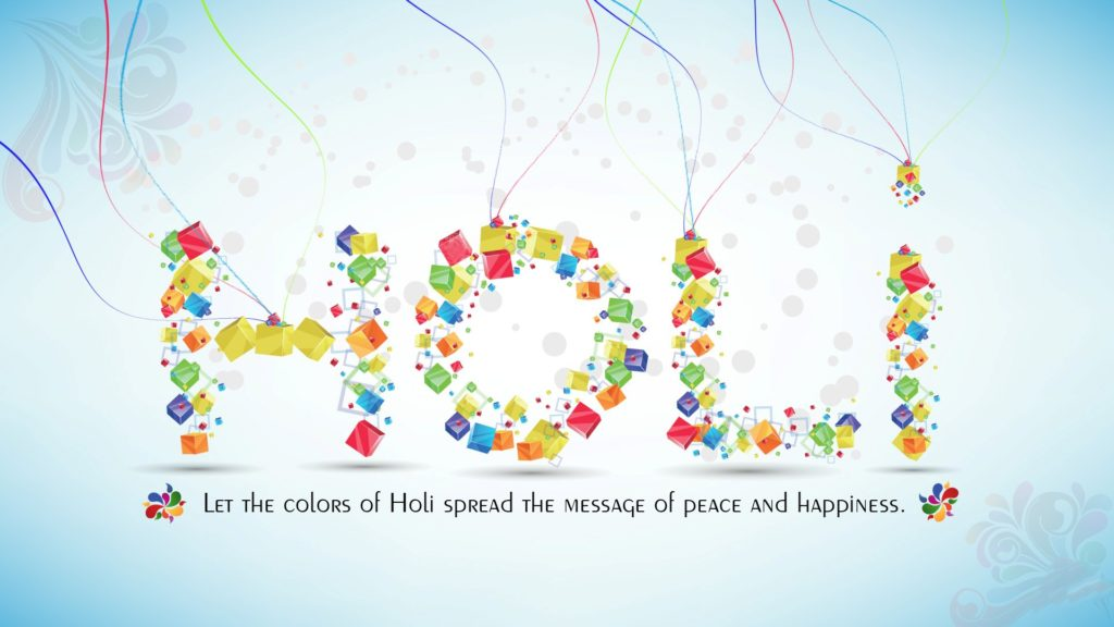 Best Holi Greeting Wish in English HD Desktop