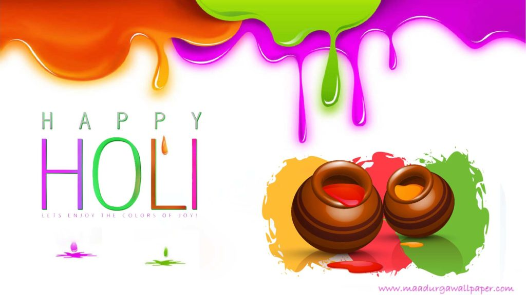 Colorful Holi Wishes For Friends