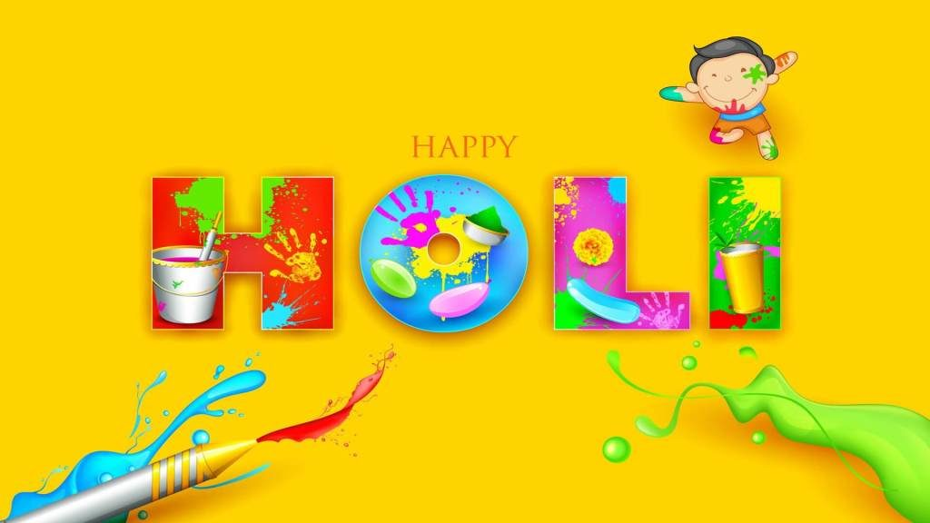 Enjoy the festival of Holi