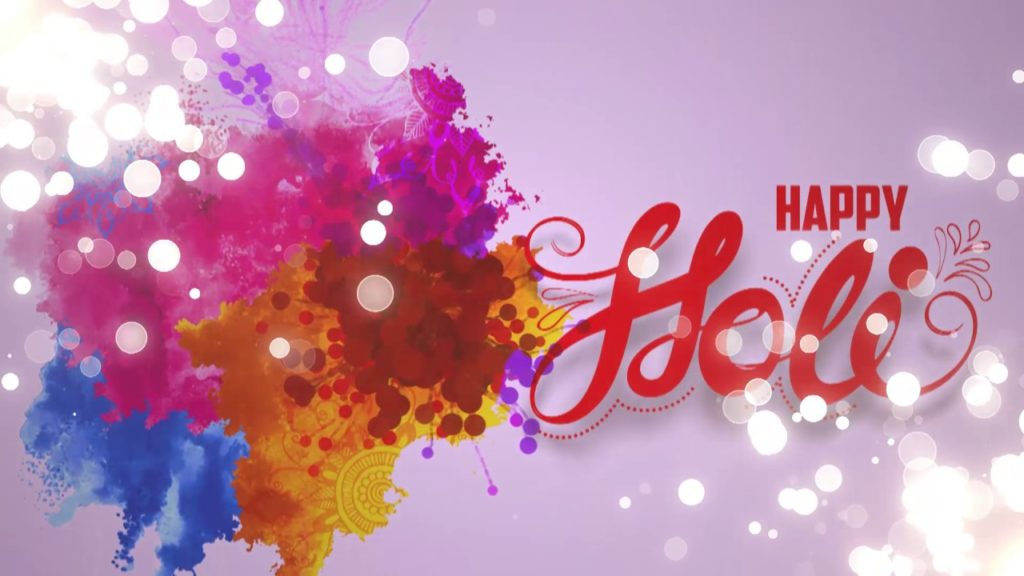 Happy Holi 2019 Desktop Wallpaper