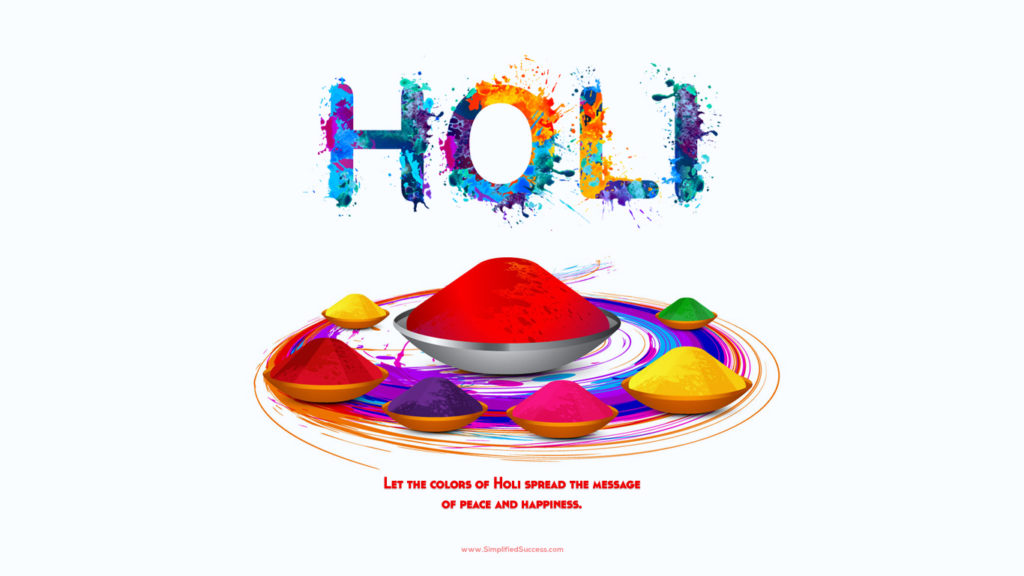 Happy Holi 2019 Full HD Wallpaper