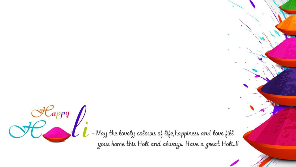 Happy Holi Quote Festival Wallpapers Greetings Images
