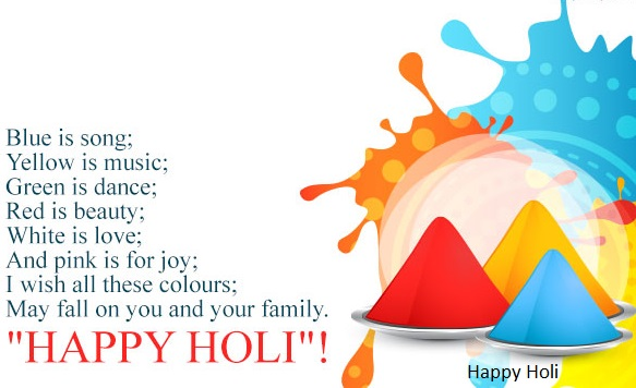 Happy Holi Sms,Messages