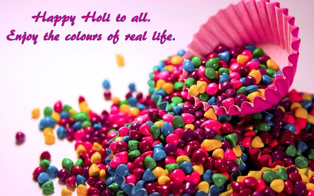 Happy Holi Wishes HD Wallpapers For Desktop