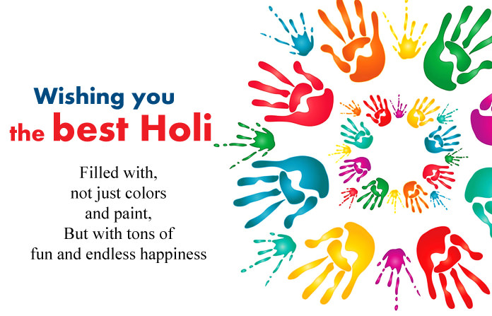 Best Happy Holi Wishes 2019 For Your Love Ones in the World