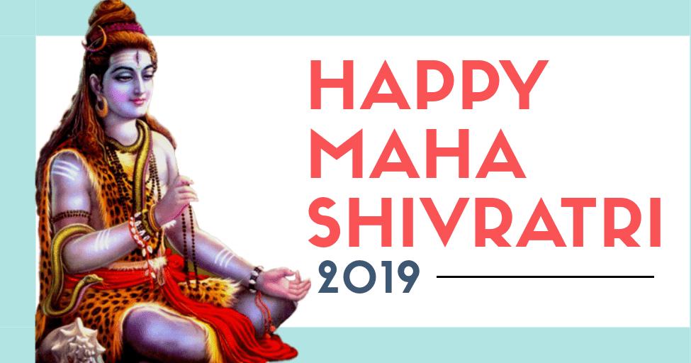 Happy Maha Shivratri 2019 image