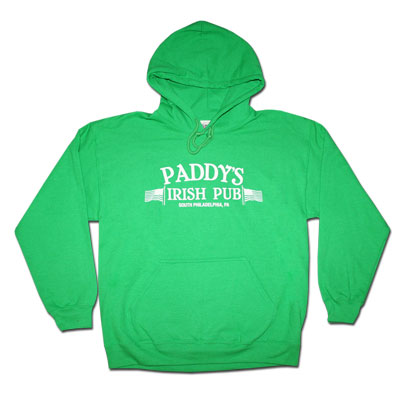 Always Sunny Paddys Green Hoodies