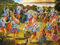 Happy Holi Radha Krishna Wallpaper