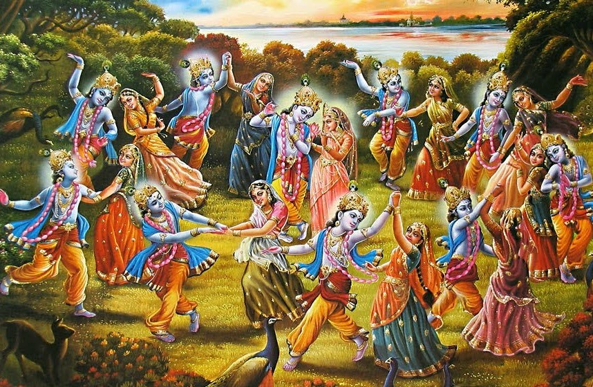 Happy Holi Radha Krishna Wallpaper