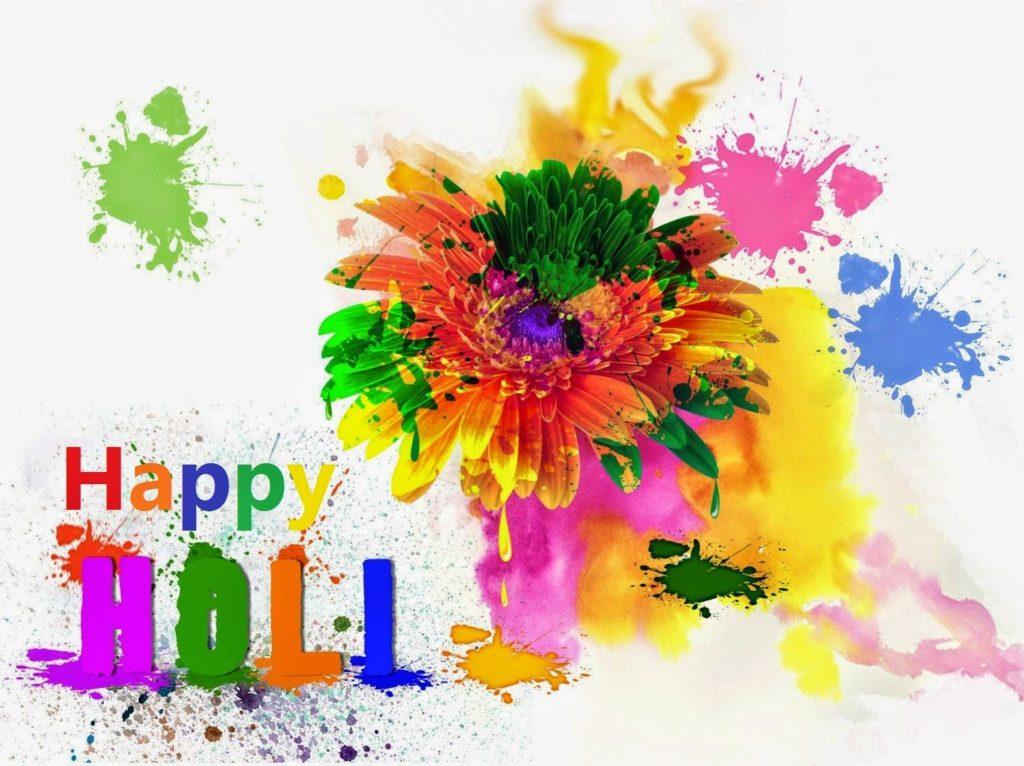 Happy holi free wallpaper