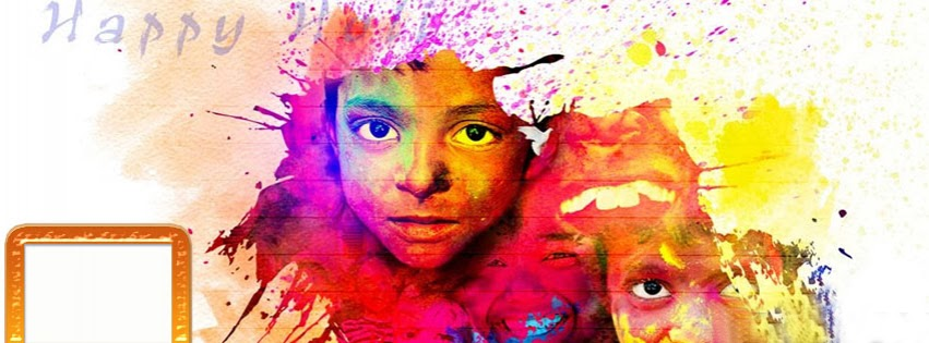 Holi Facebook Cover pictures