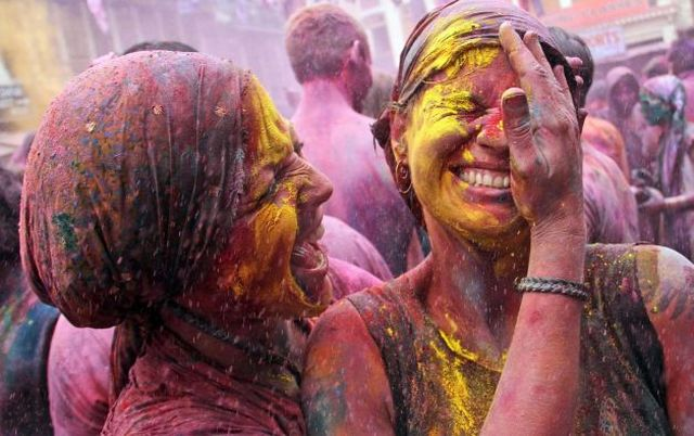 Holi Festival of Colours in India
