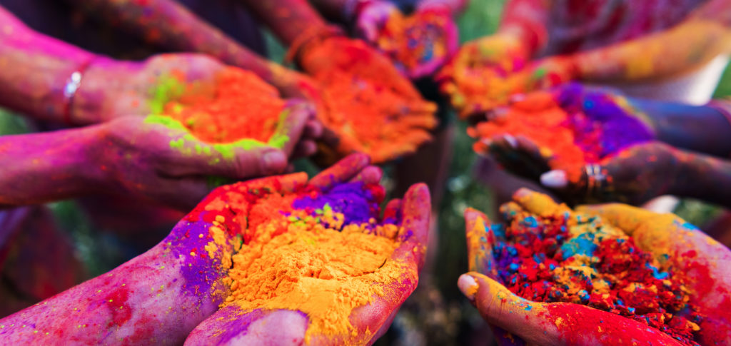 Holi Festival paint ur life with colors