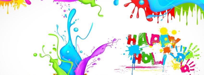 Holi Hai Facebook Cover
