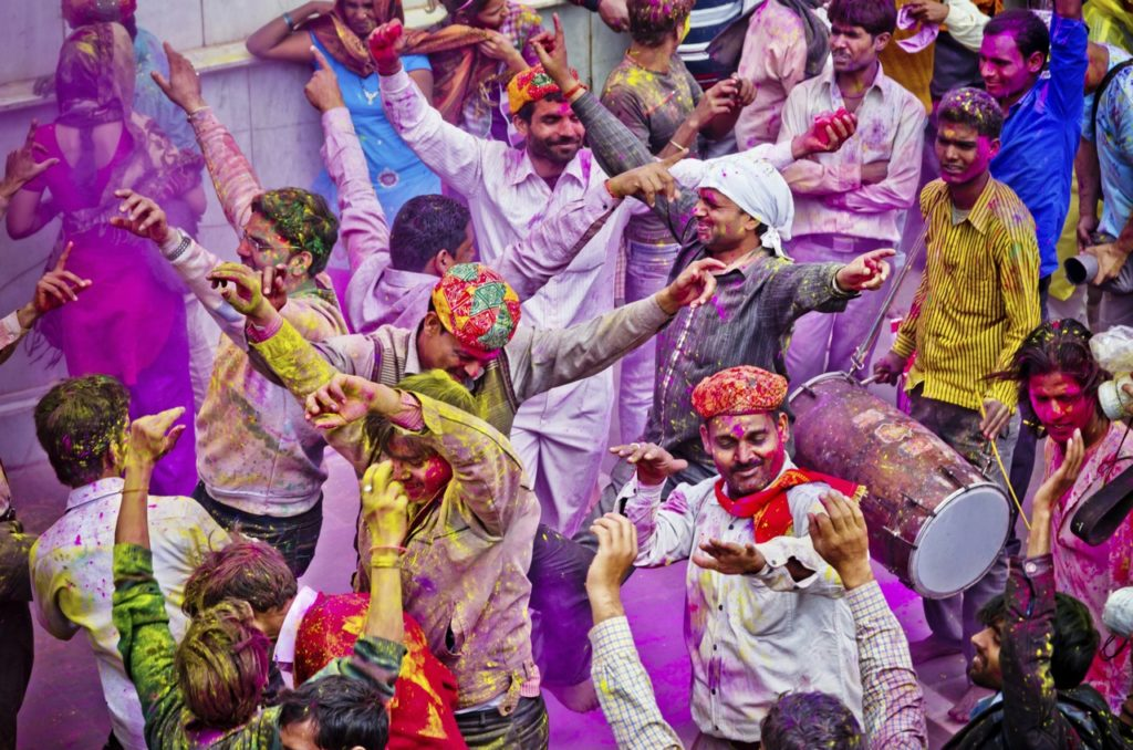 Insight Celebrates India's Holi Festival
