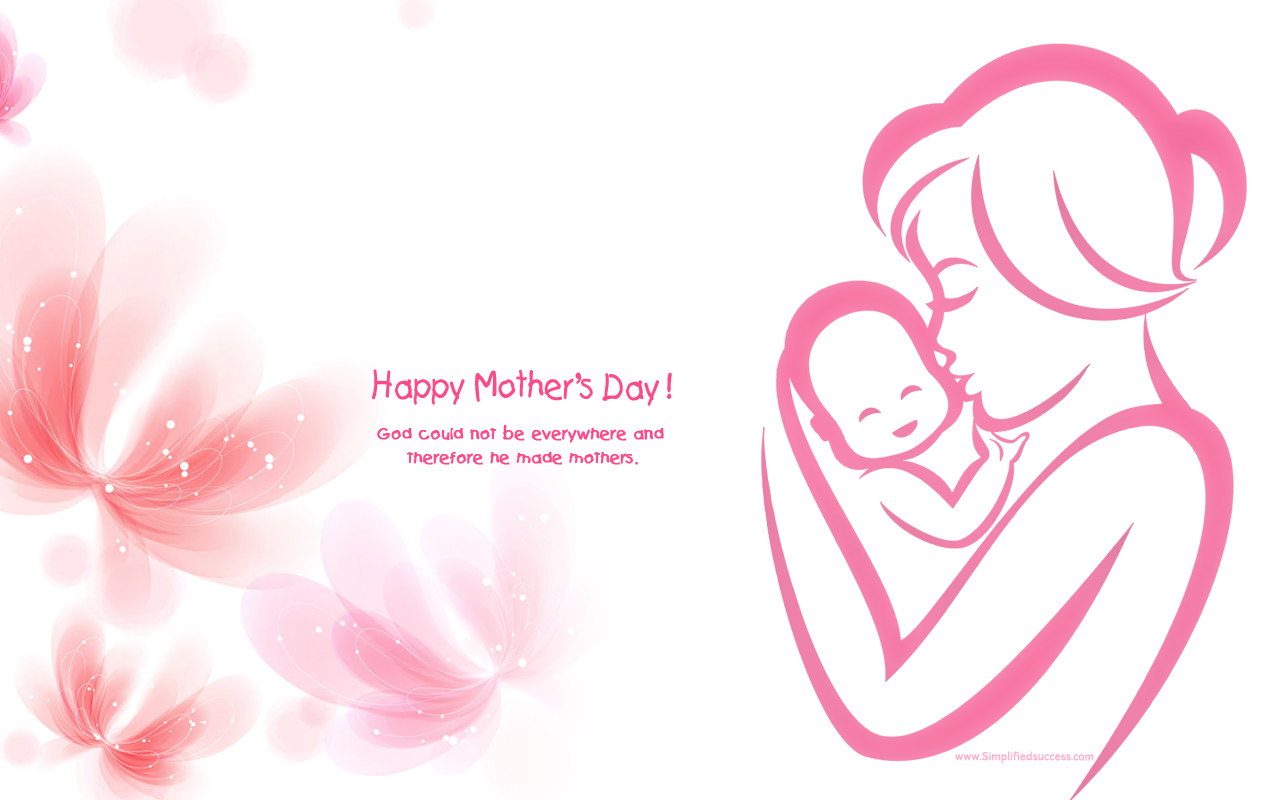 Happy Mothers Day Wallpapers Images for WhatsApp & Facebook