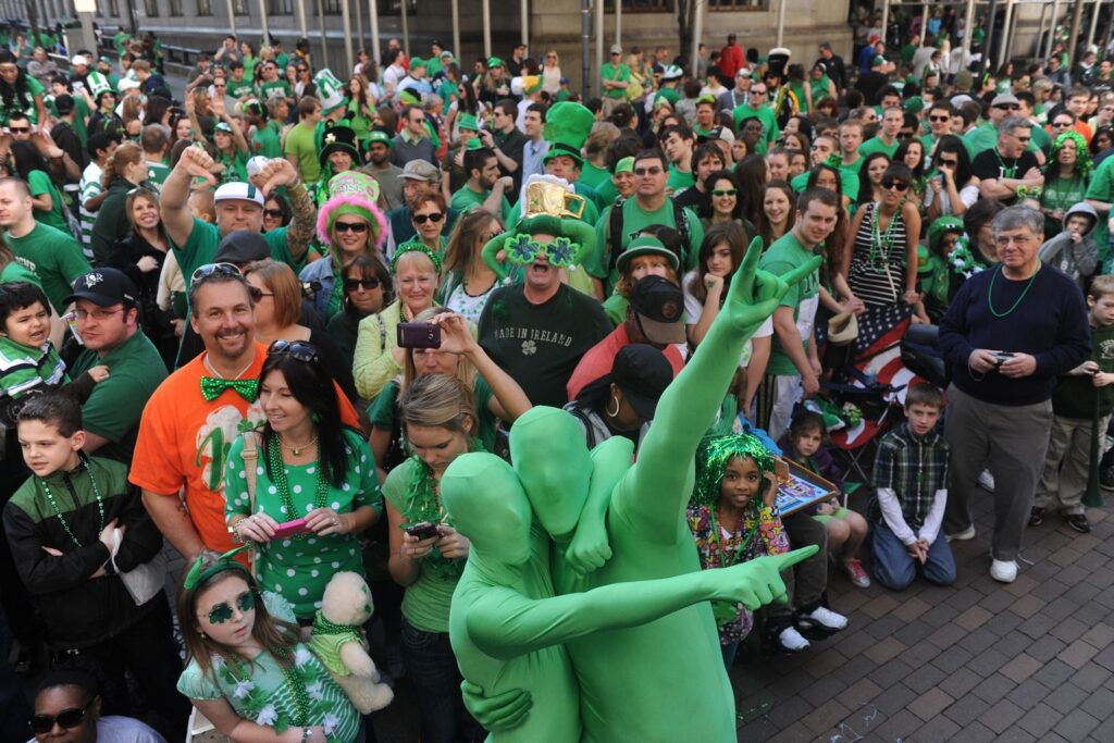Spend St. Patrick's day in Boston