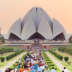 Lotus Temple Introduction Tourism