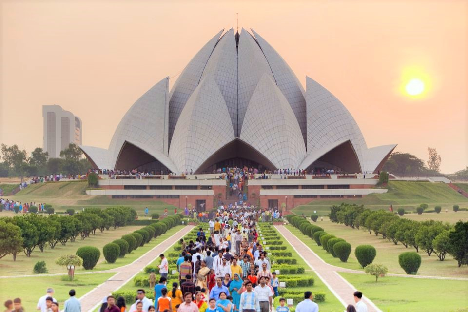 Lotus Temple Introduction Tourism