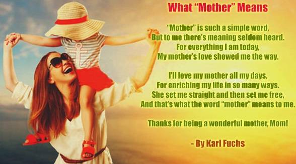 Happy Mothers Day Wishes | A poem for my mom | Trendslr