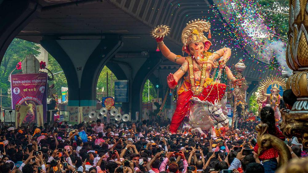 Ganesh chaturthi in Pune