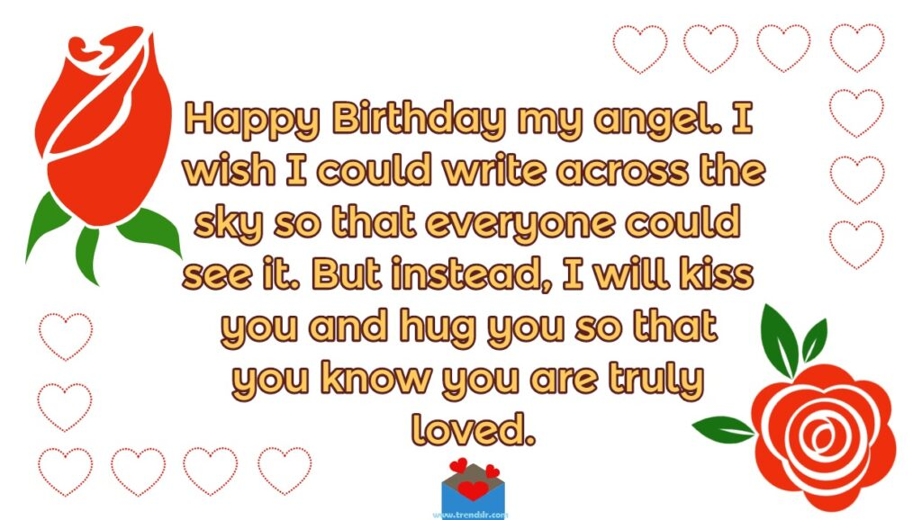Birthday Card Wishes for Lover