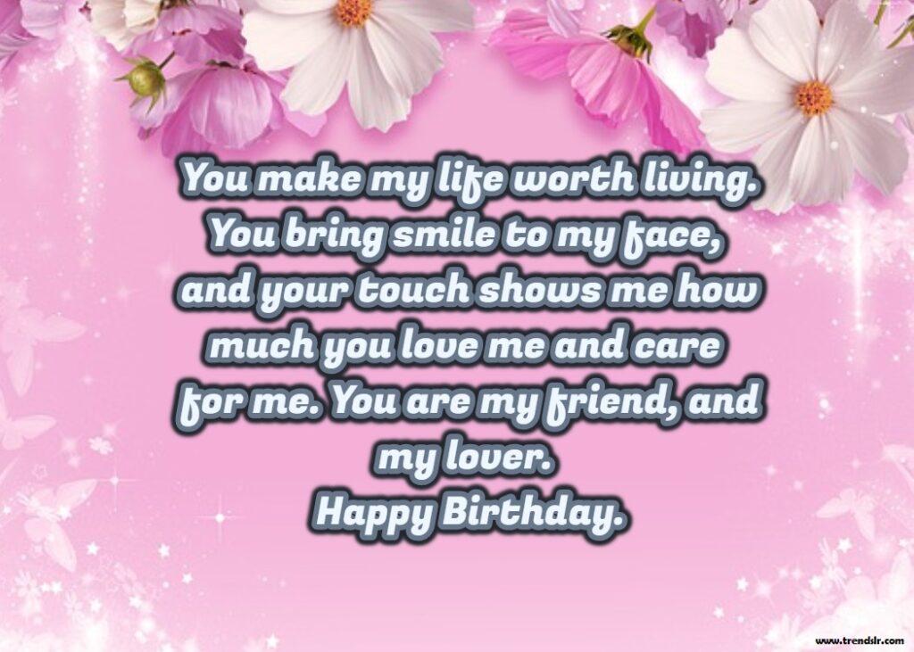Happy Birthday Wishes MessagesFor Boyfriend