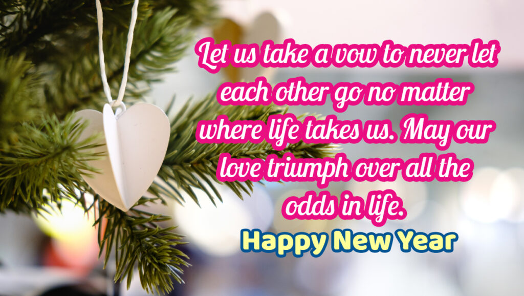 New Year Love Messages for Love