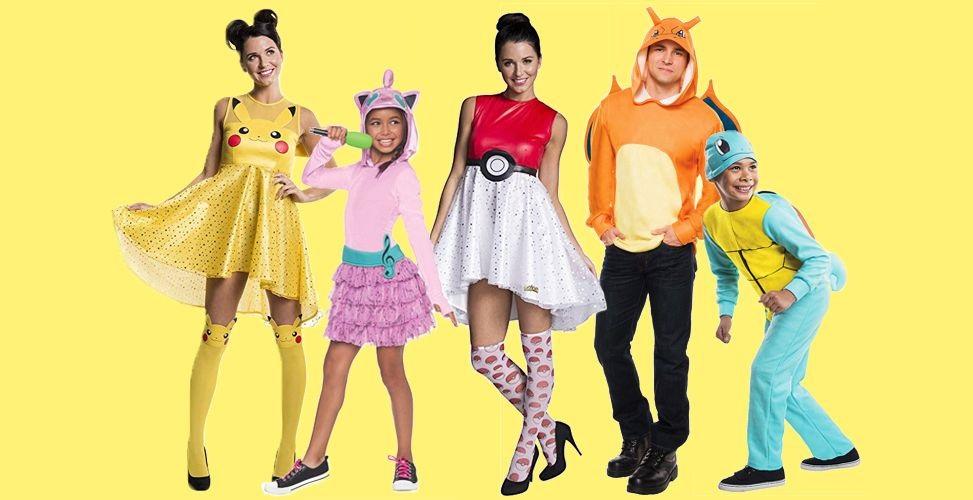 Pokemon halloween costumes Ideas