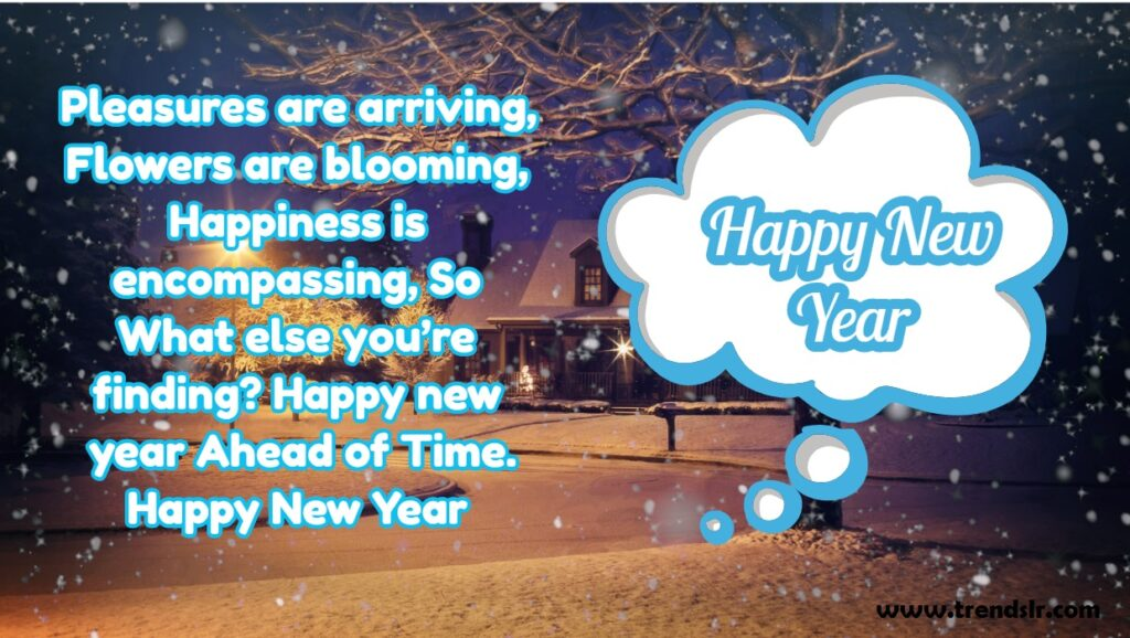 happy new year status in english