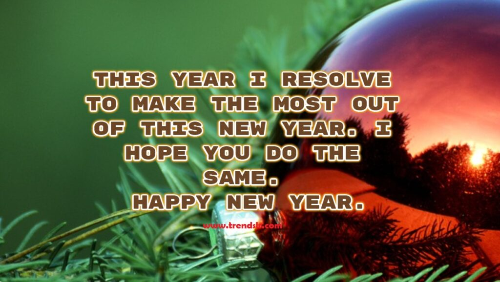 New Year Messages Wishes
