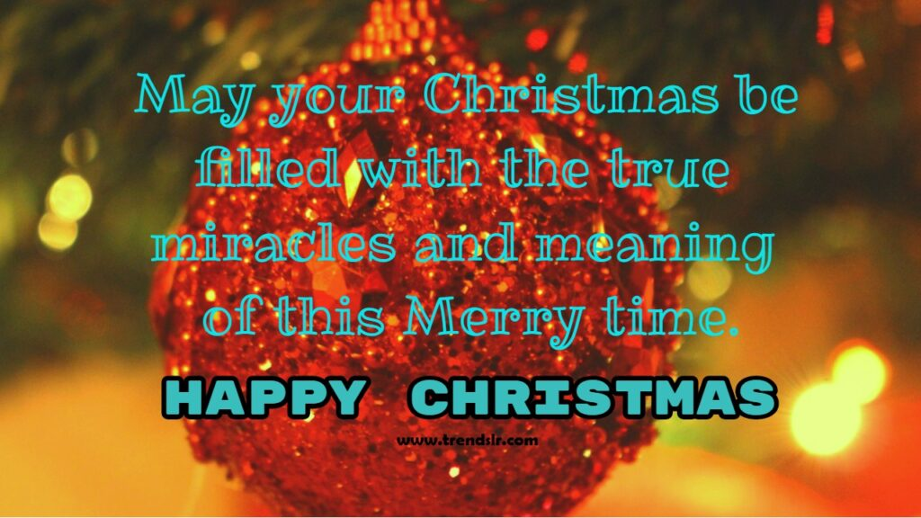 happy christmas day greeting card