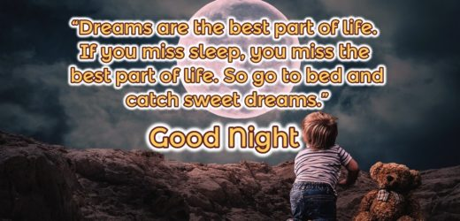 Good Night Photos Wallpaper with Wishes