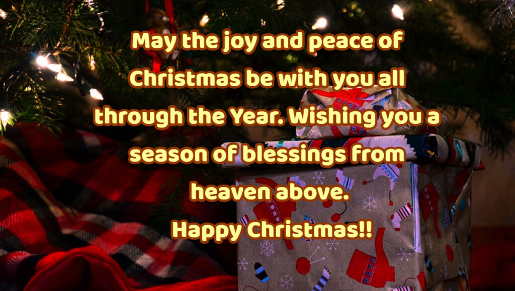 merry christmas to my friends and family