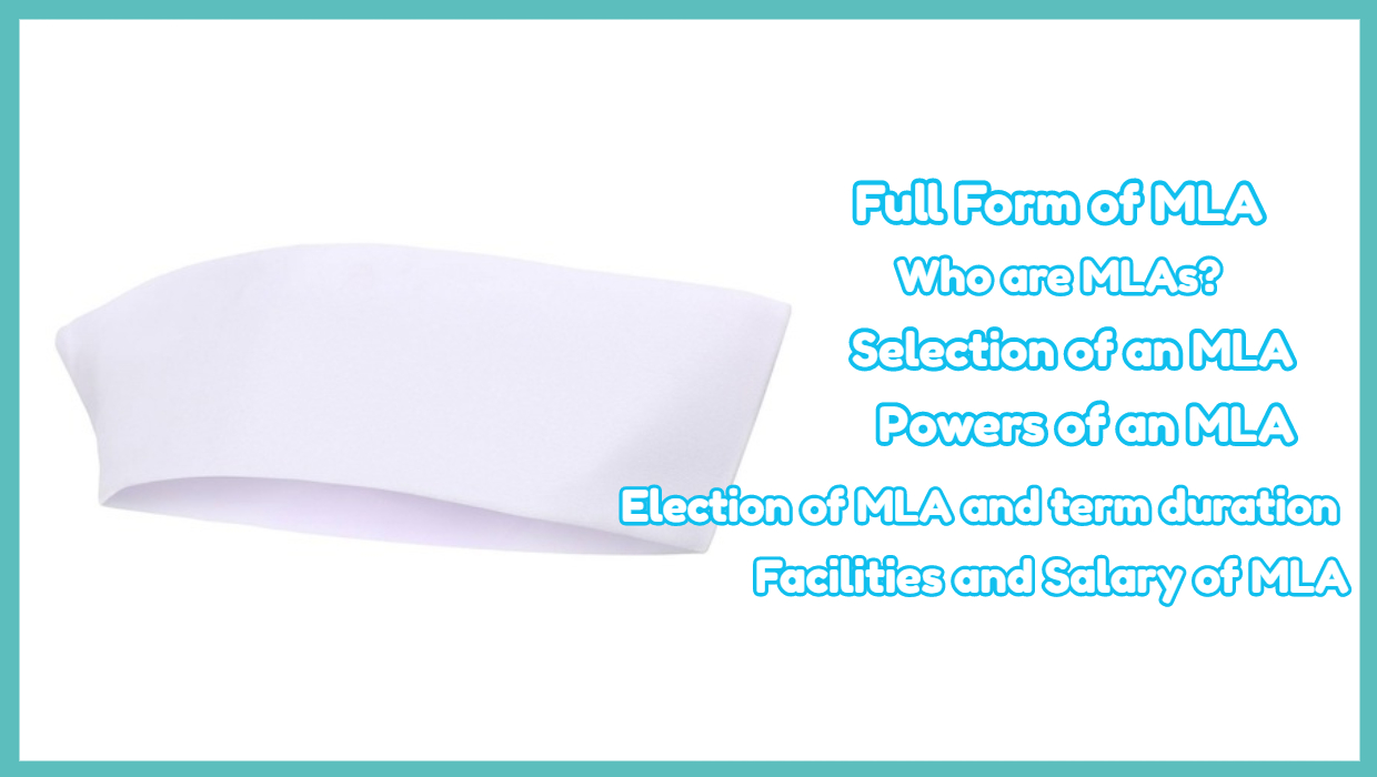 Full Form of MLA – Selection of an MLA – Powers of an MLA
