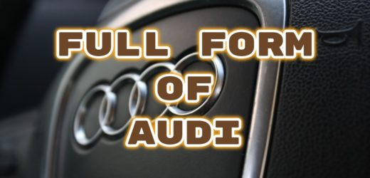 Full Form of AUDI
