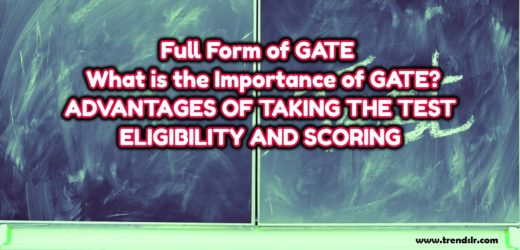 Full Form of GATE – What is the Importance of GATE?