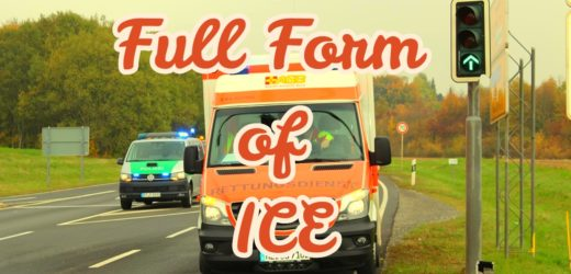 Full Form of ICE