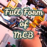 Full Form of MCB