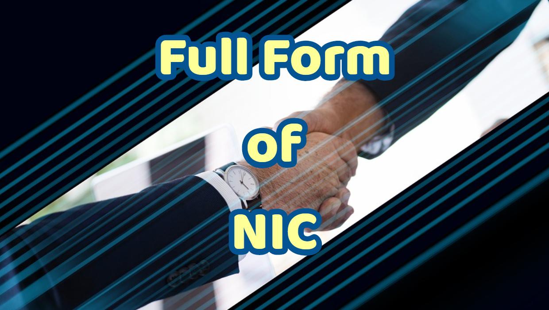 Full Form of NIC
