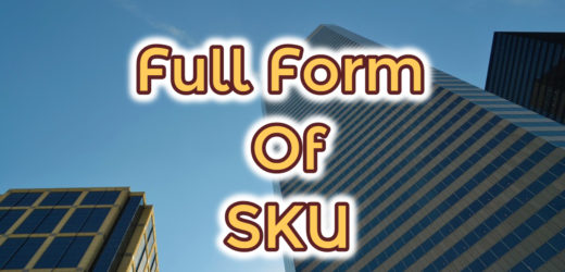 Full Form of SKU