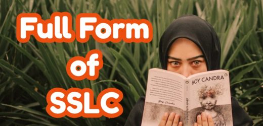 SSLC Full Form
