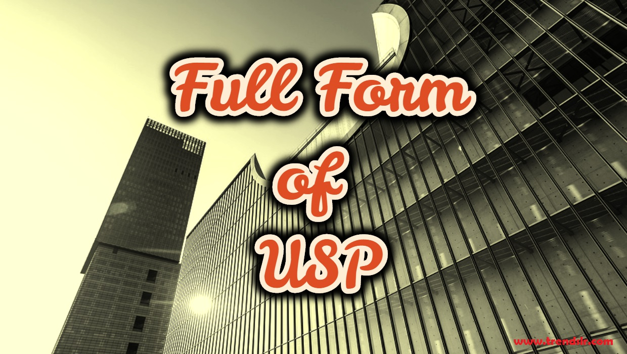 Full Form of USP