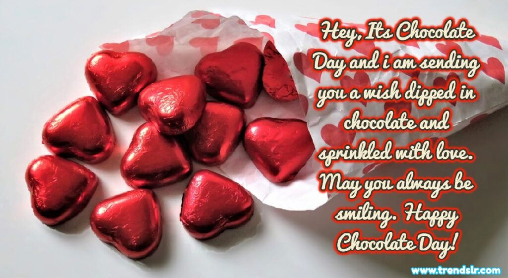 Chocolate Day Wishes Greetigs