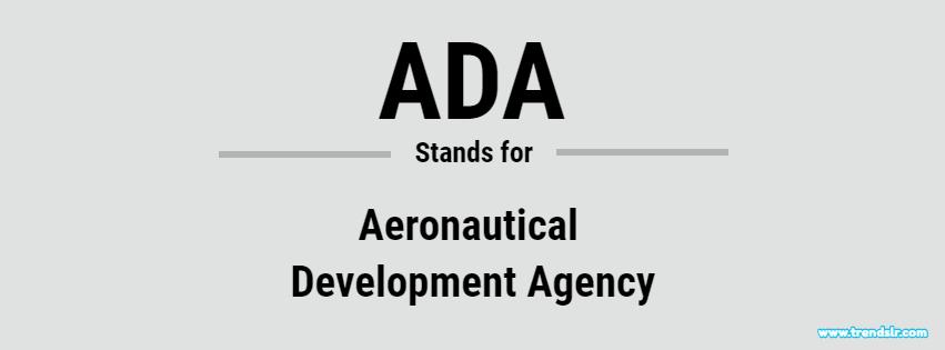 Full Form of ADA