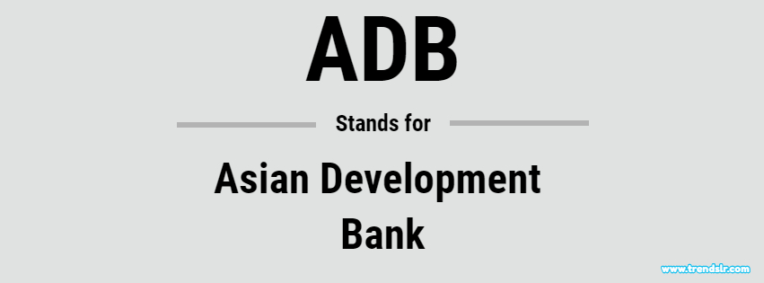 Full Form of ADB