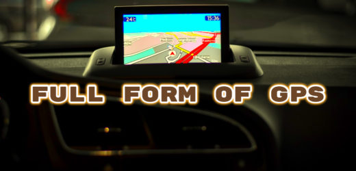 Full Form of GPS – Additional Information
