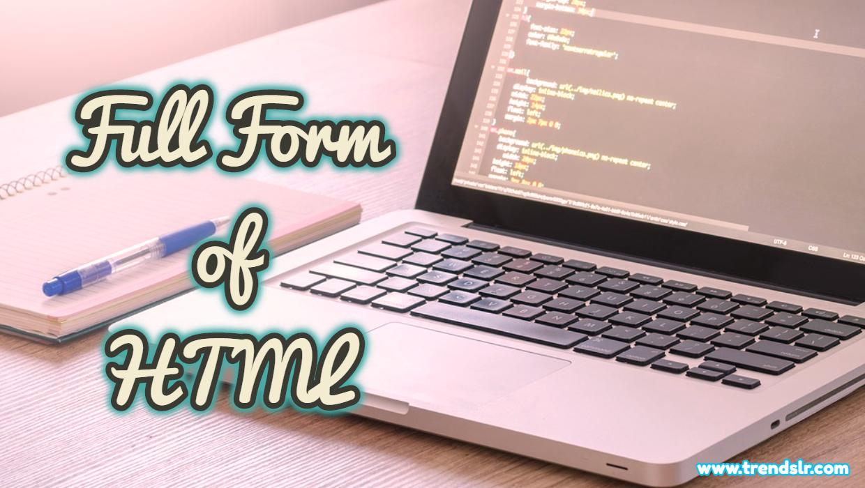 Full Form of HTML