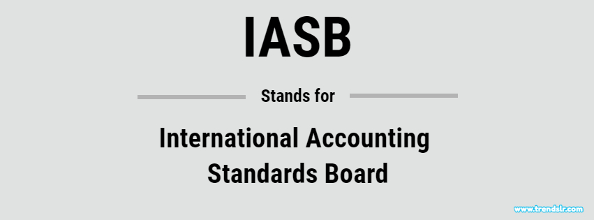 Full Form of IASB