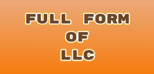 Full Form of LLC